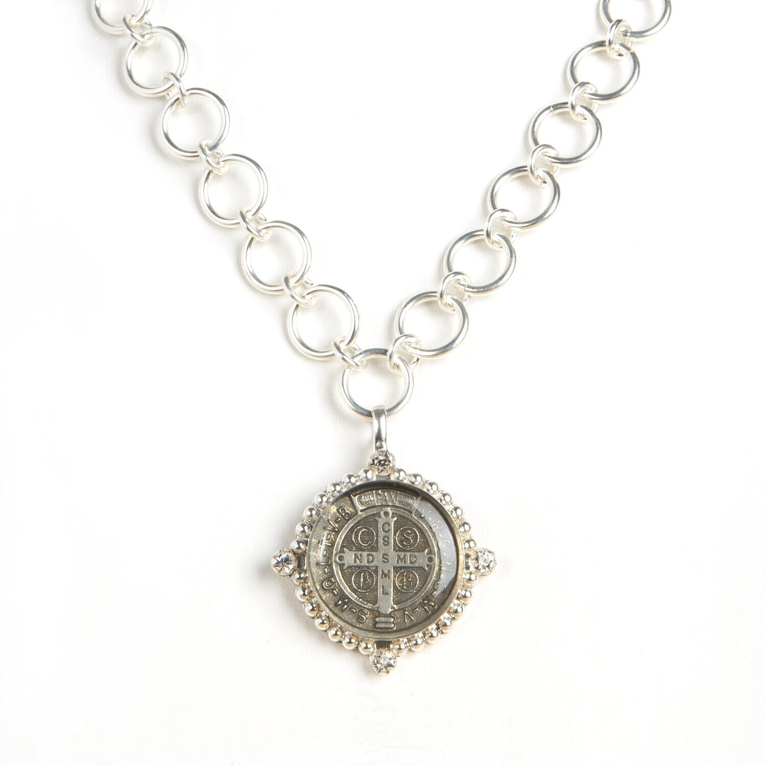 The Betty Necklace Bespoke San Benito/Silver