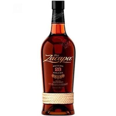 Ron zacapa 23 años ( botella)