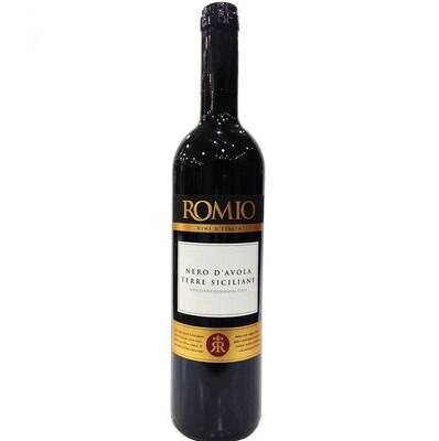 Romio nero D'avola sicilia