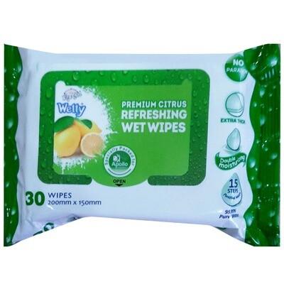 Premium Citrus Wet Wipes