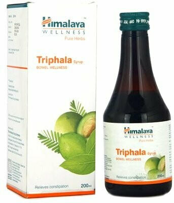TRIPHALA,Triphala Syrup 200ml The Prokinetic Cleanser