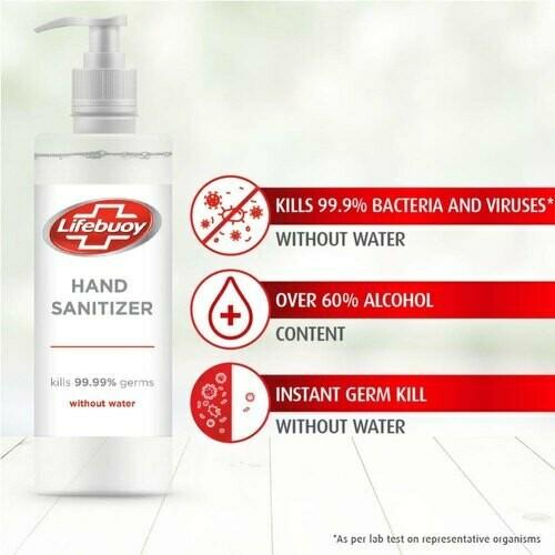 Lifebuoy Hand Sanitizer 500ML