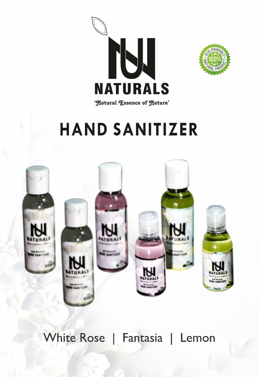NU Sanitizers 50ml pack of 4