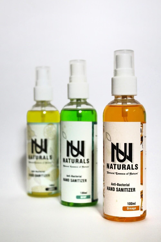 NU Sanitizers Spray 100ml pack of 2