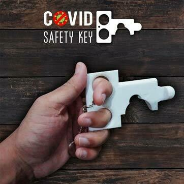 Contactless Key Chain,(COVID KEYS) Pack 3