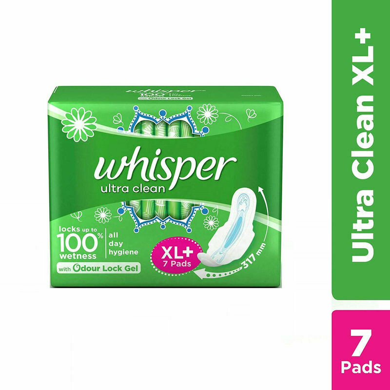 WHISPER ULTRA SOFT XL -7 PADS