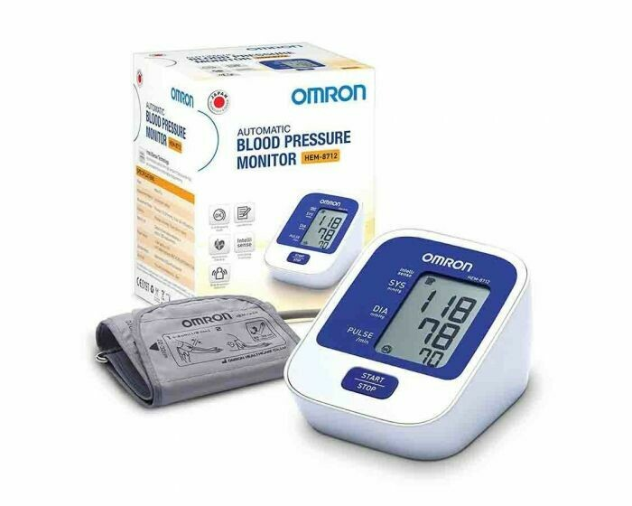 OMRAN BLOOD PRESSURE MONITER-HEM-8712