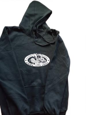Branded Hoodie Jumper - Black