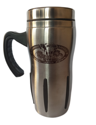 Branded Travel Mug with Handle
