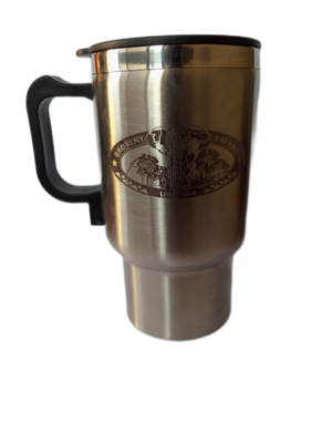 Branded Travel Mug with Charger