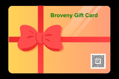 Broveny Gift card