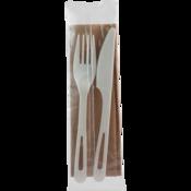 Fork~Knife~Napkin Combo Set 500 Sets per case