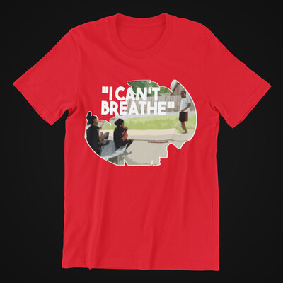 I CANT BREATHE TEE (RED)