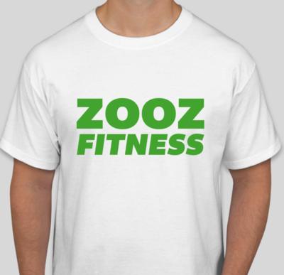 ZOOZ Fitness T-Shirt (White/Green)