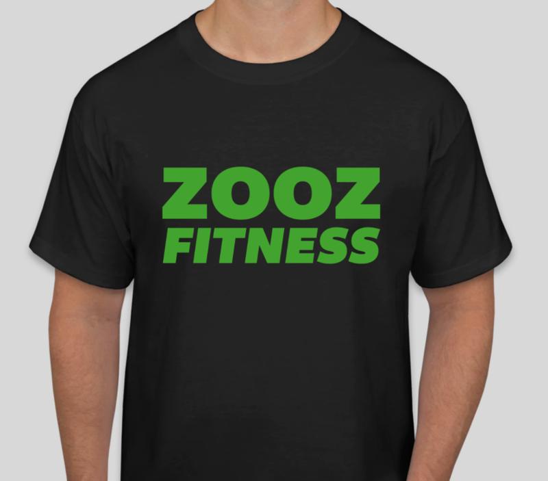 ZOOZ Fitness T-Shirt (Black/Green)