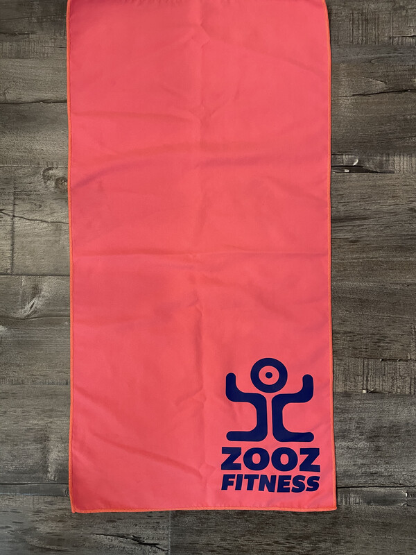 Pink Quick Dry Recycled Microfiber Sport Gym Towel