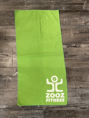 Green Quick Dry Recycled Microfiber Sport Gym Towel