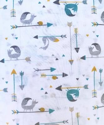 Pijama - Animalitos Y Flechas-