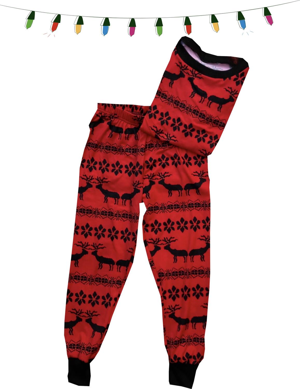 Pijama - Navidad Rojo Renos -