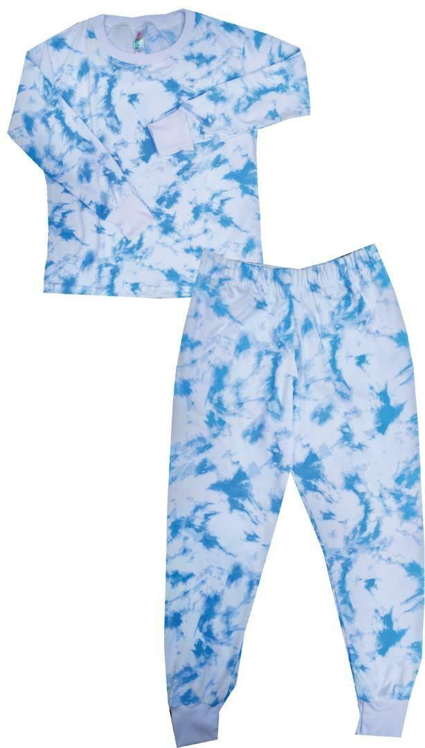 Pijama - Azul Tie Dye  -