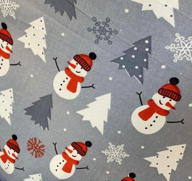 Pijama - Snowman Gris -