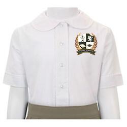 Girls White Oxford Shirt