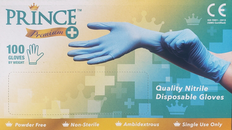 Prince Premium Nitrile Gloves (per 100)