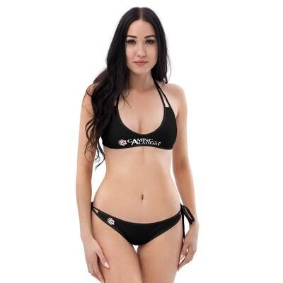 Black Double-face GA Bikini