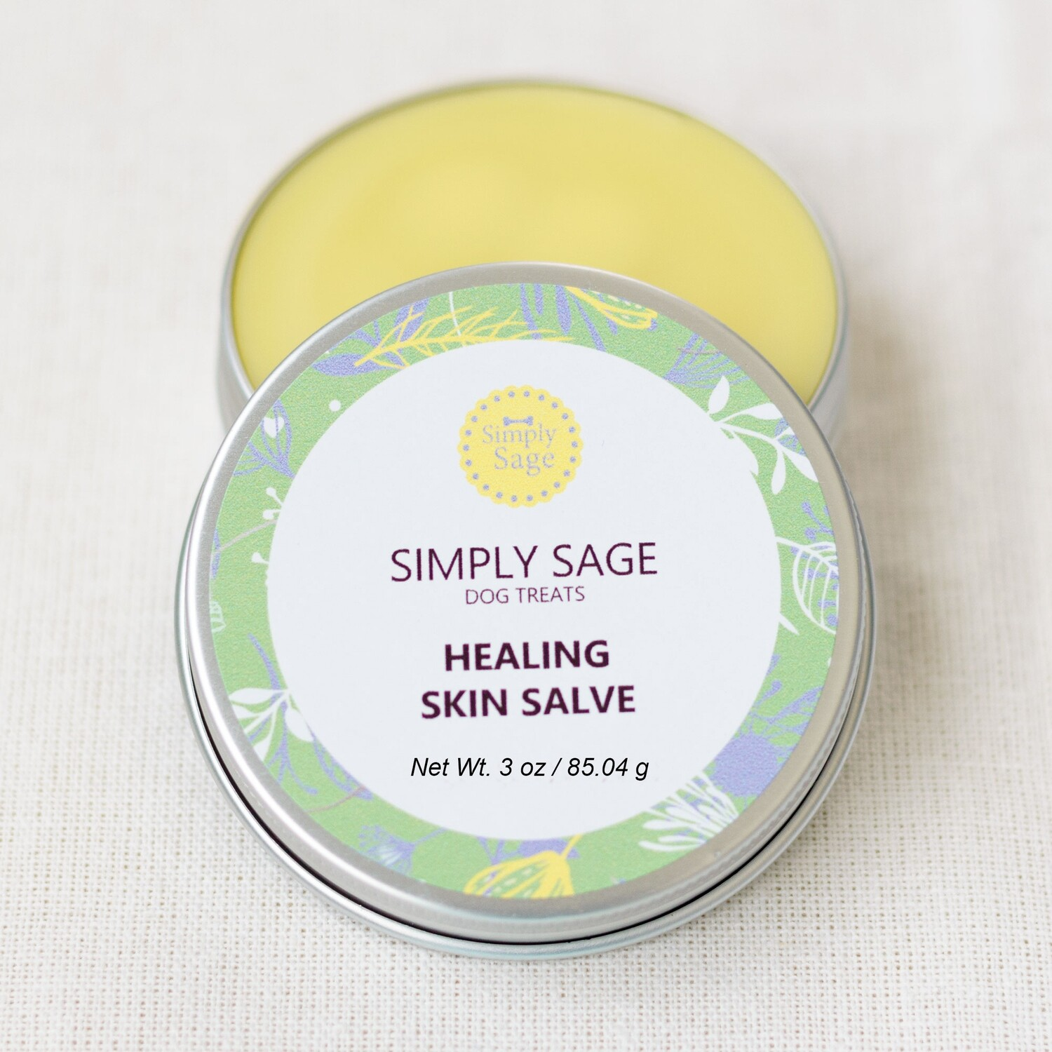 Dog and Cat Itchy Skin Balm, Pet Herbal Skin Salve