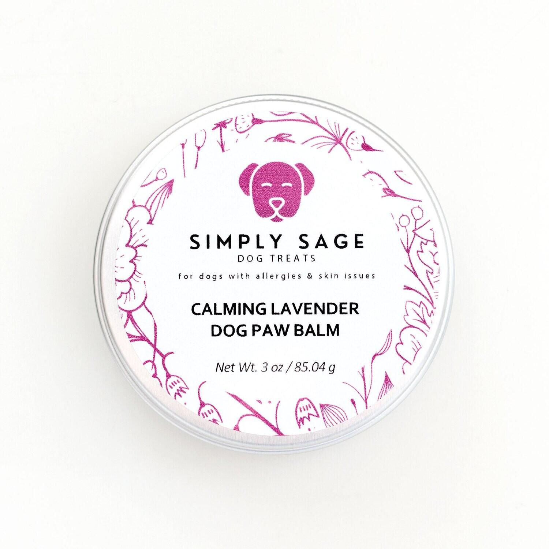Calming Lavender Dog Paw Balm