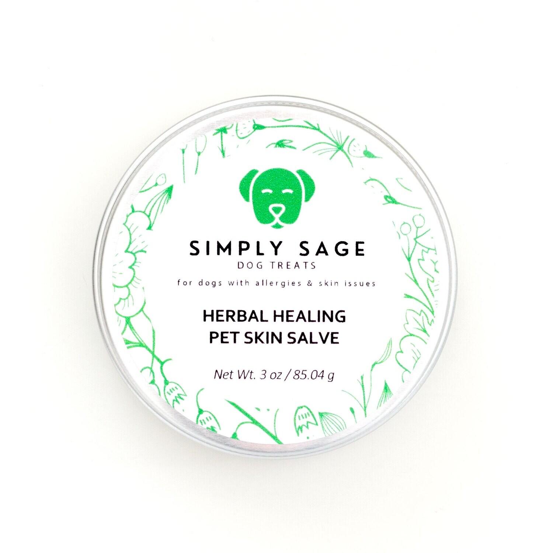 Herbal Healing Pet Skin Salve