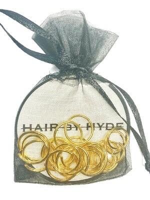 HAIR by HYDE gold tone hair ring