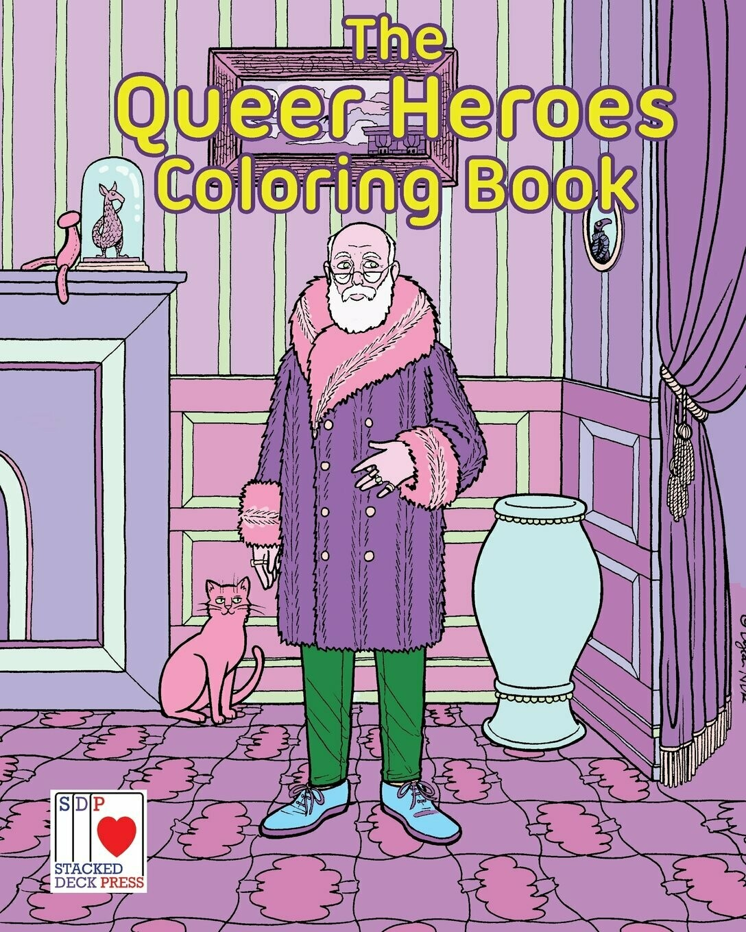 Queer Heroes Coloring Book - Cassell et al