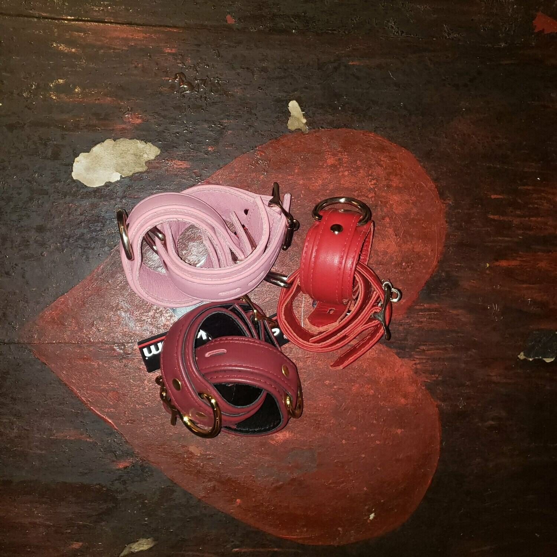 Premium Garment Leather Wrist Cuffs