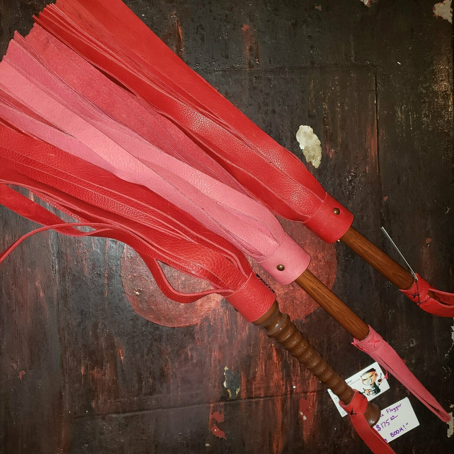 Rough Cut Bullhide Flogger
