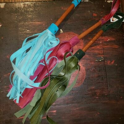 Rough Cut Leather Flogger