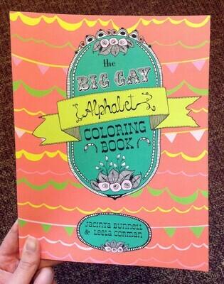 Big Gay Alphabet Coloring Book