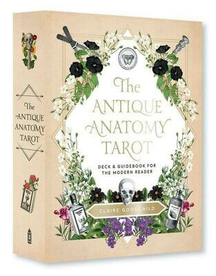 Antique Anatomy Tarot Kit: A Deck and Guidebook for the Modern Reader