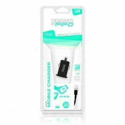 10211 BY FIFO USB CAR CHARGER FOR MICRO USB