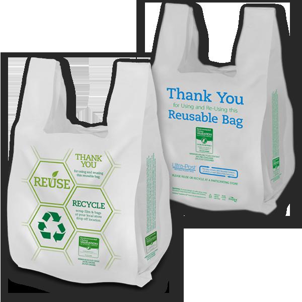 13759 REUSABLE PLASTIC BAGS