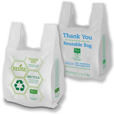13759 REUSABLE PLASTIC BAGS