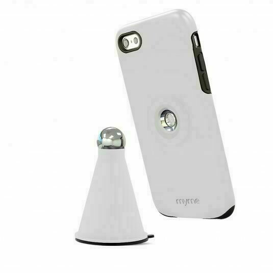 Myme Unity 22 - Case+Cradle - For iPhone 6 Plus, 6s Plus - White