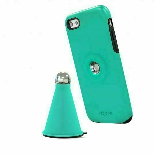 46372 Myme Unity 22 - Case+Cradle - For iPhone 6 Plus, 6s Plus - Green