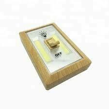 8483 WOOD GRAIN COB LED NIGHT LIGHT SWITCH