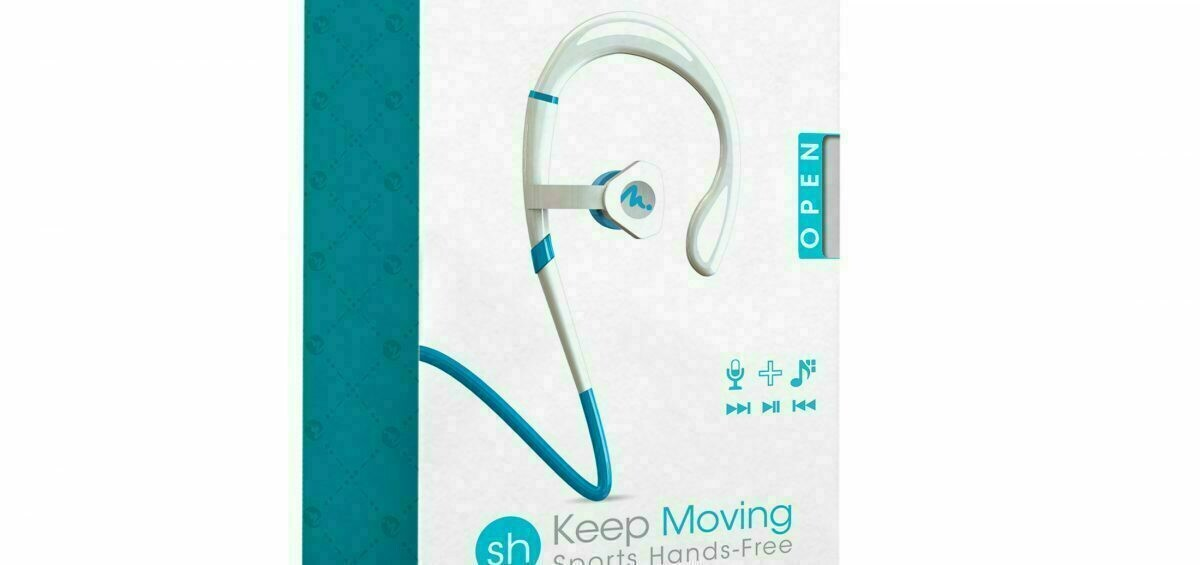 69091 SPORTS HEADPHONES -WHITE/COLORS