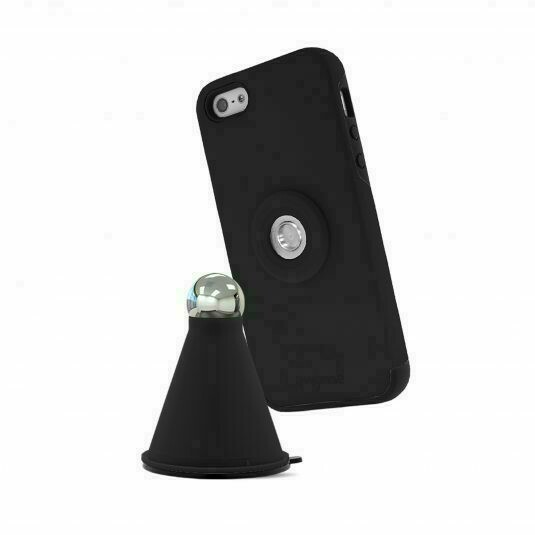 Myme Unity 22 - Case+Cradle - For iPhone 5, 5s, 5se - Black