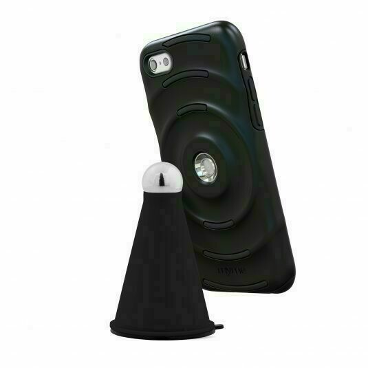 MYME UNITY 23 CASE+CRADLE FOR IPHONE 7 PLUS BLACK