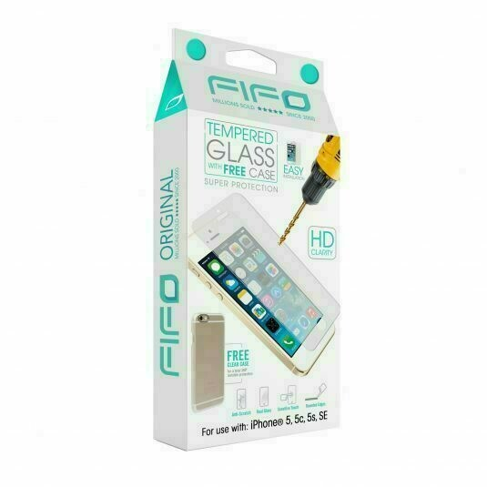 10194 FIFO TEMPERED GLASS WITH FREE CASE