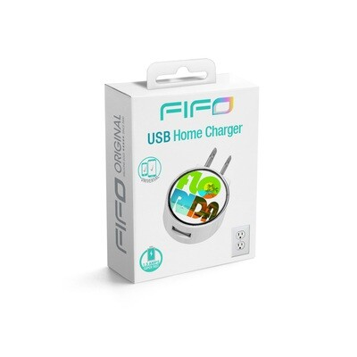 60414- FIFO Colors Promo USB Home Charger