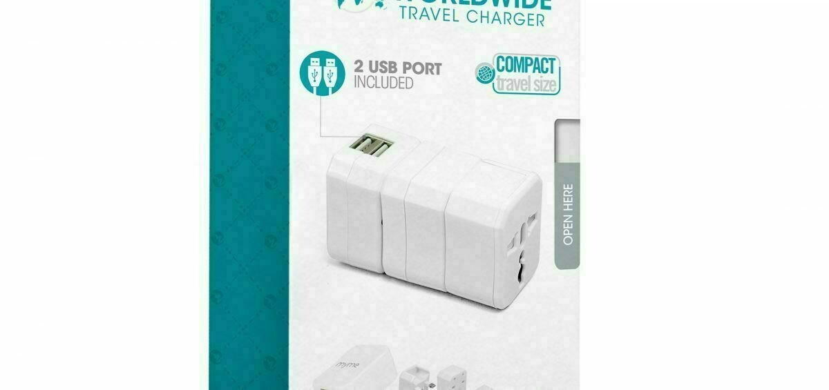 69154 MYME WORLDWIDE TRAVEL ADAPTER